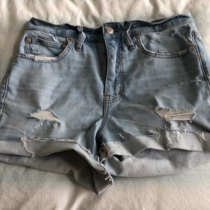 Madewell Jean Shorts Size 27.